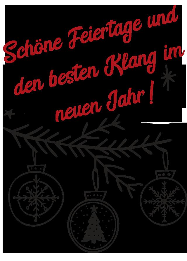 Weihnachten 2017: ab 4.12. sind Montage im Dezember wieder Longtage