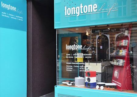 Longtone HiFi Shop in Vienna, Austria