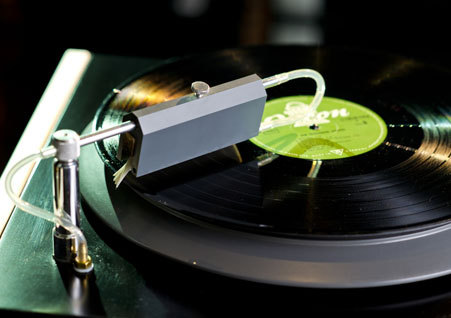 Schallplattenreinigung bei Longtone