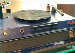 Schallplatten Reinigungsmaschine