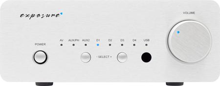 Exposure XM5 Amplifier Front View