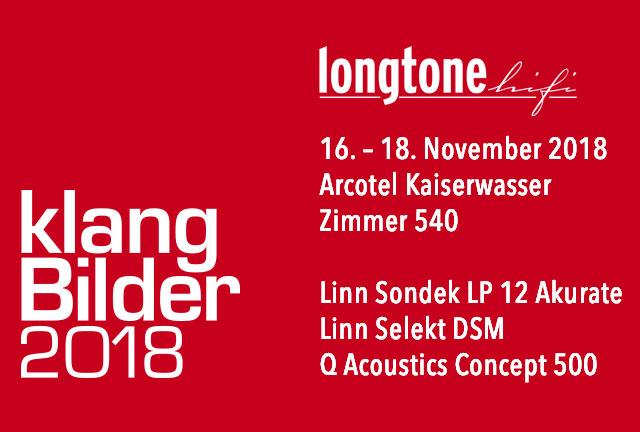 Longtone HiFi auf der HiFi Messe Klangbilder 2018