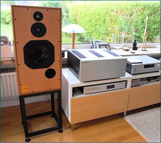 Lautsprecherständer für Harbeth Super HL5 plus von Customdesign