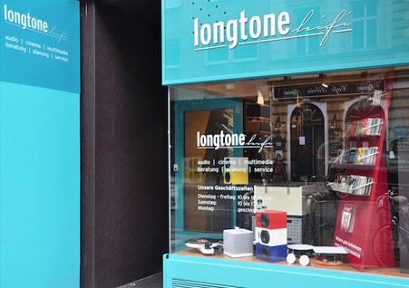 Longtone HiFi in der Burggasse in Wien