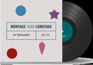Montage sind Longtage: Öffnungszeiten vor Weihnachten2019