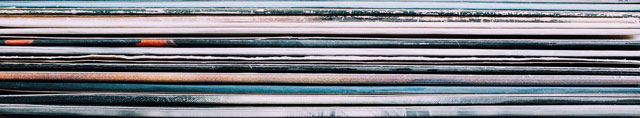 Schallplatten hören