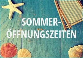 Sommeröffnungszeiten bei Longtone