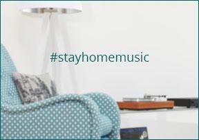 Zuhause Musik hören
